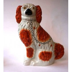 Staffordshire Pottery: Spaniel