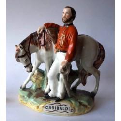 Staffordshire Pottery Garibaldi