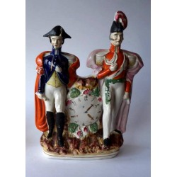 Staffordshire Pottery Wellington and Napoleon