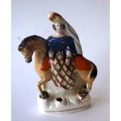 Staffordshire Pottery Victoria Equestrian