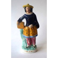Staffordshire Pottery China Man