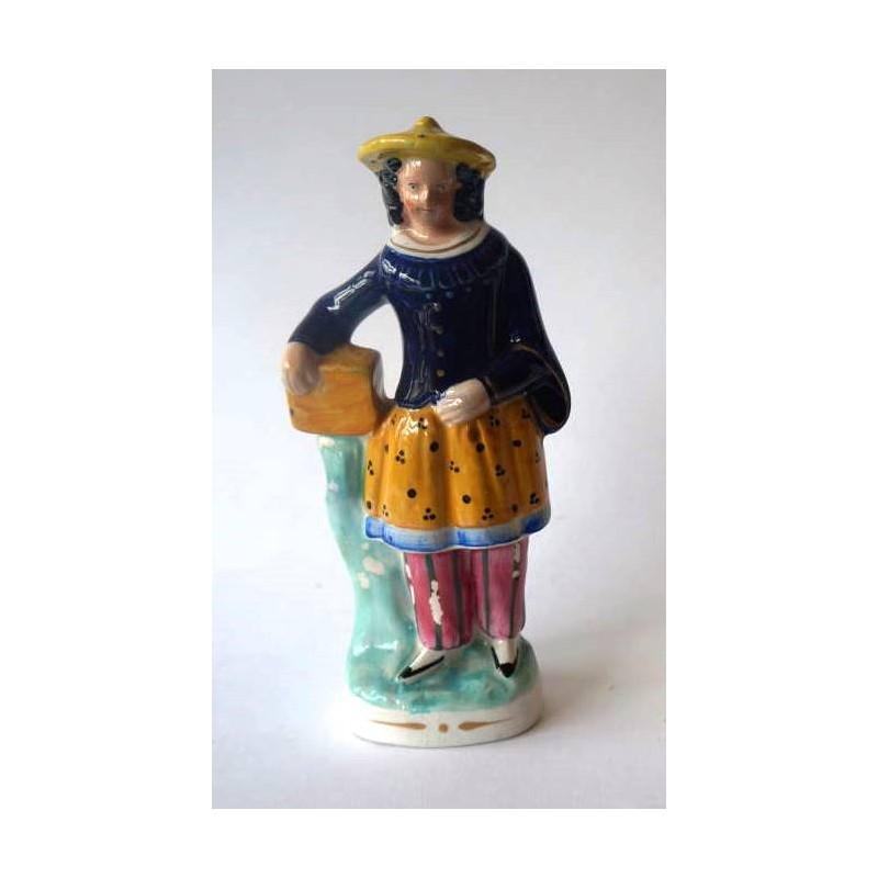 Staffordshire Pottery China Man