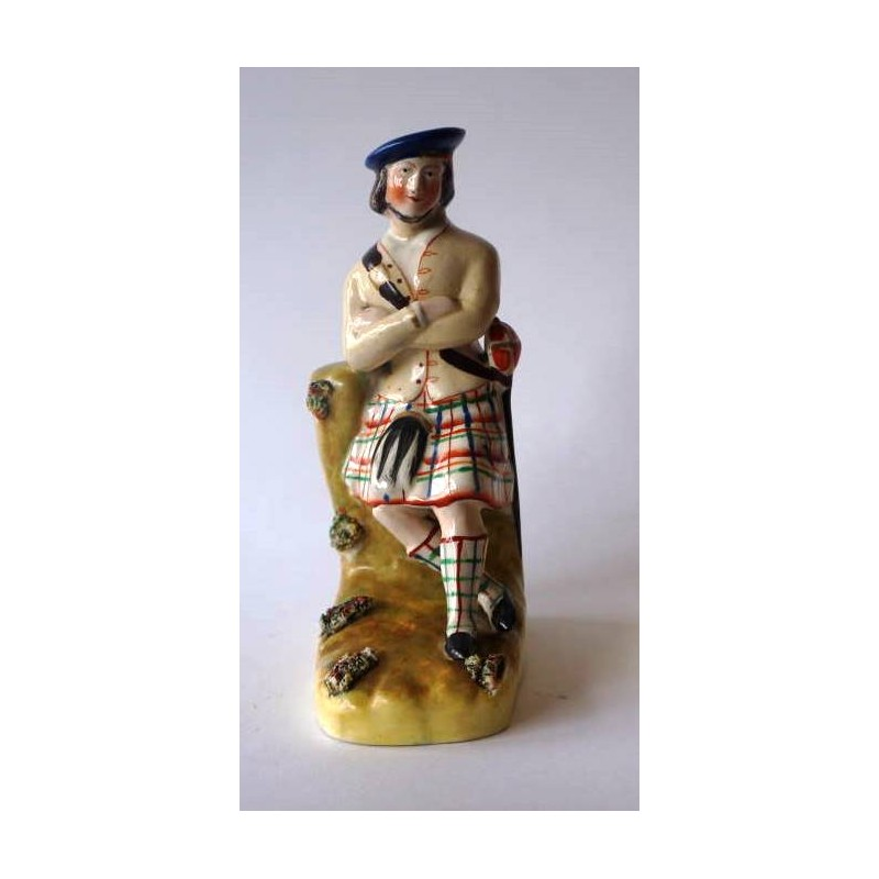 Staffordshire Pottery Highlander