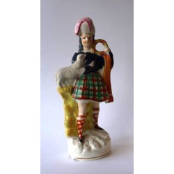Staffordshire Pottery Dancer