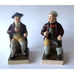 Staffordshire Pottery Tam O'Shanter and Souter Johnnie
