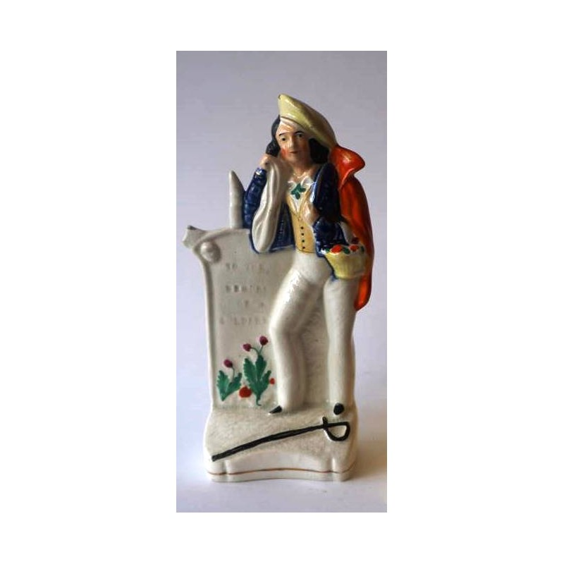 Staffordshire Pottery Soldier