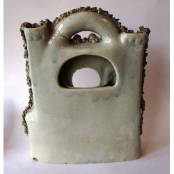 Staffordshire Pottery Castle watch holder