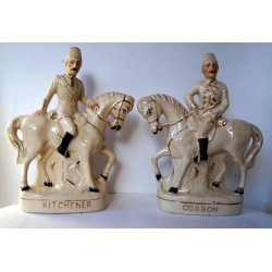 Staffordshire Pottery Kitchener and Gordon