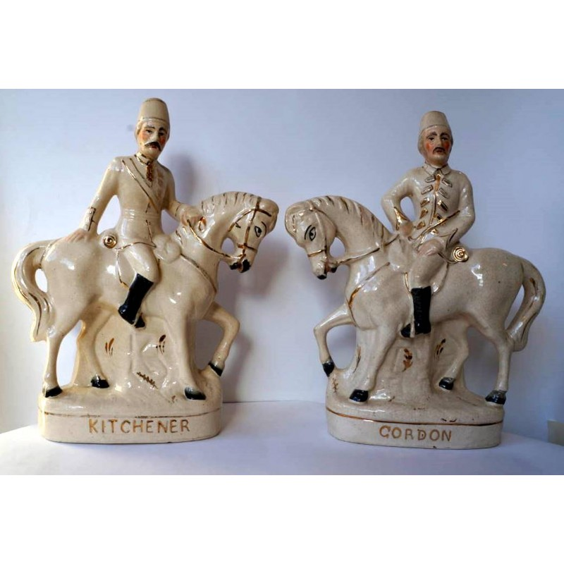 Staffordshire Pottery Kitchener and Gordon