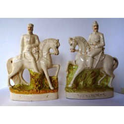 Staffordshire Pottery Sir Redvers Buller and Major General Sir John French