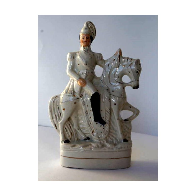 Staffordshire Pottery Equestrian Officer