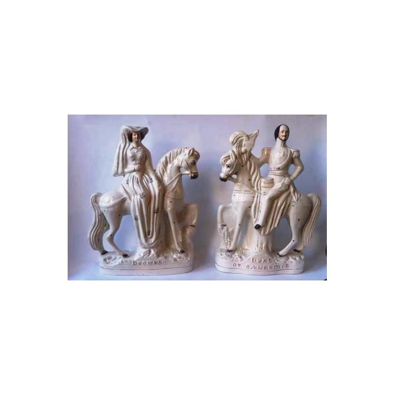Staffordshire Pottery Duke and Duchess of Cambridge