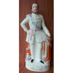 Staffordshire figure of Prince of Wales