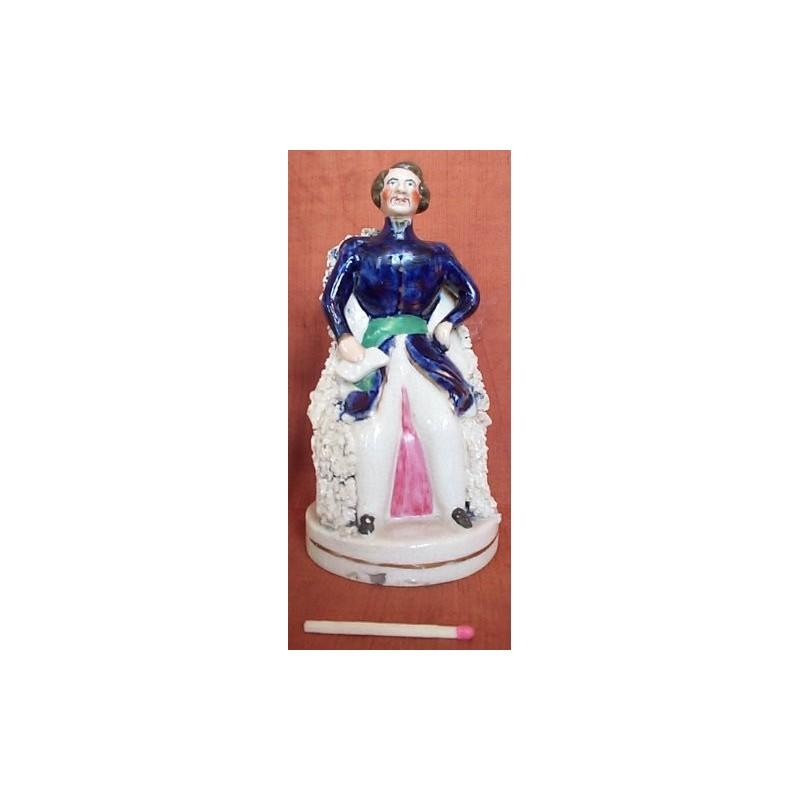 Staffordshire figure of Albert Seated