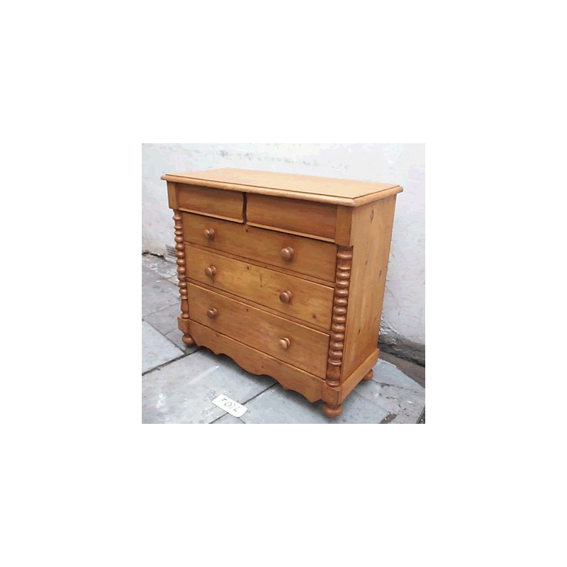Stripped Pine Scotch Chest