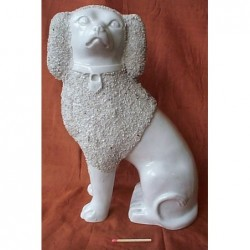 Staffordshire Pottery Poodle
