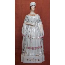 Staffordshire figure of Victoria Standing