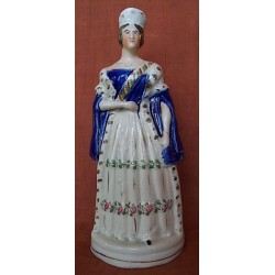 Queen Victoria standing