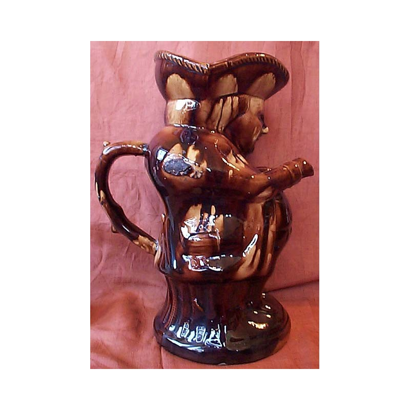 Treacle glazed Toby jug