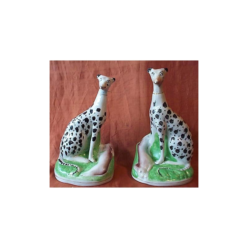 Pair Sealed Dalmations