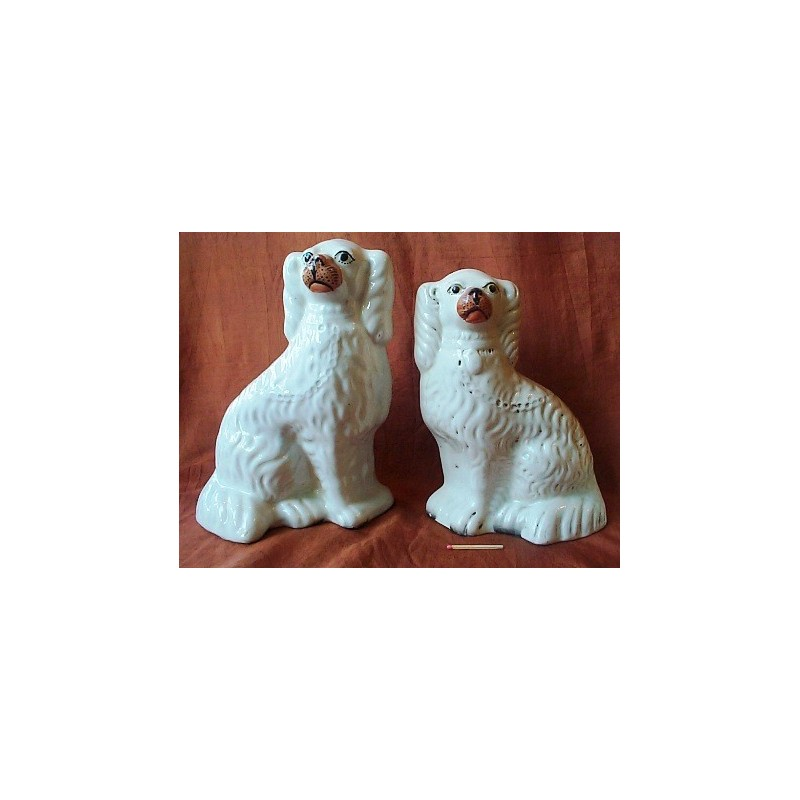 Matched Pair Spaniels