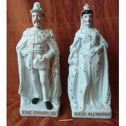 Kind Edward Vll and Queen Alexandra