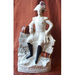 Staffordshire figure of Emperor Napoleon
