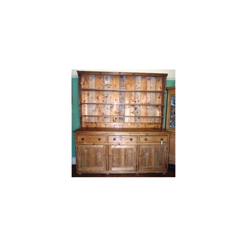 Victorian Stripped Pine Dresser
