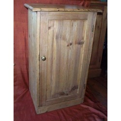 Stripped Pine bedside Cupboard