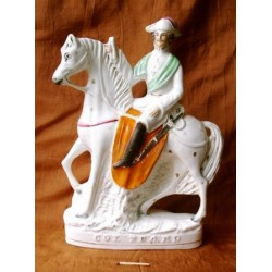 Staffordshire figure of Peard