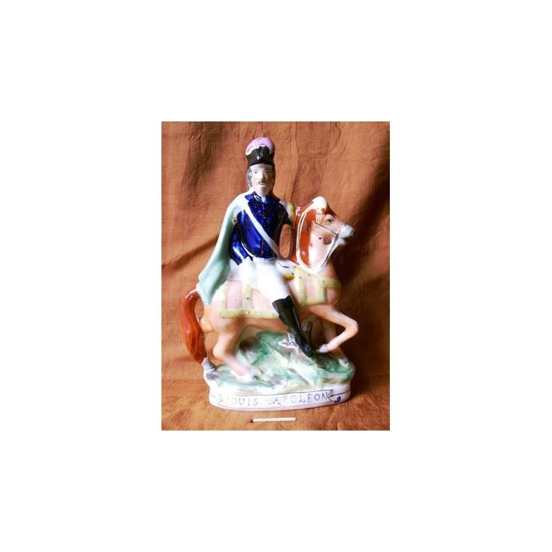 Staffordshire figure of Louis Napoleon