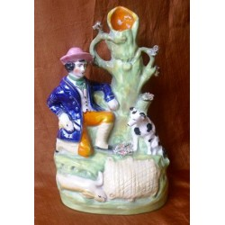 Rabbit catcher spillvase