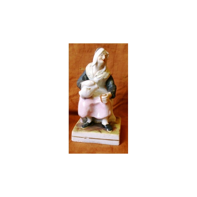 Staffordshire Pottery. Nell. The cobbler's wife