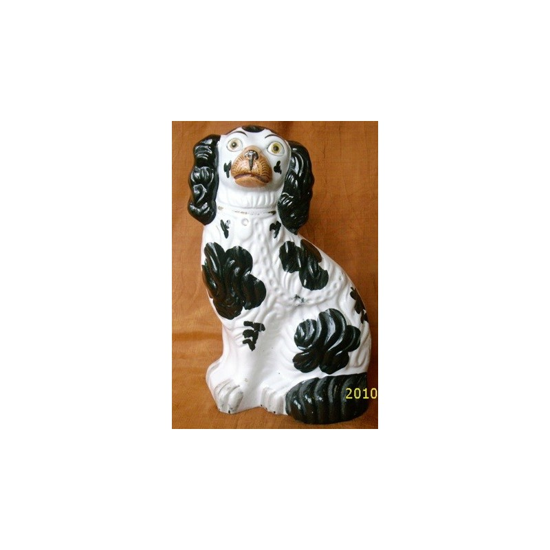 Right hand black cloud patch Spaniel