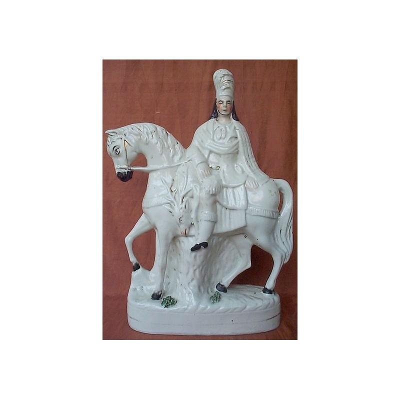 Scotsman on horseback