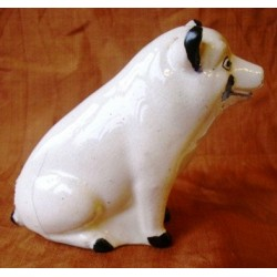 Staffordshire Pottery Pig