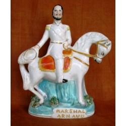 Staffordshire figure of Marshal Arnaud