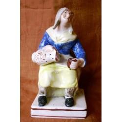 Staffordshire figure of Nell