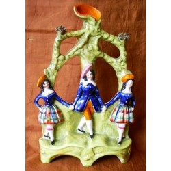 Staffordshire Pottery Dancers