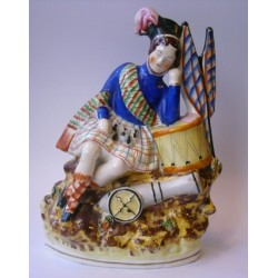 Staffordshire Pottery the soldiers dream