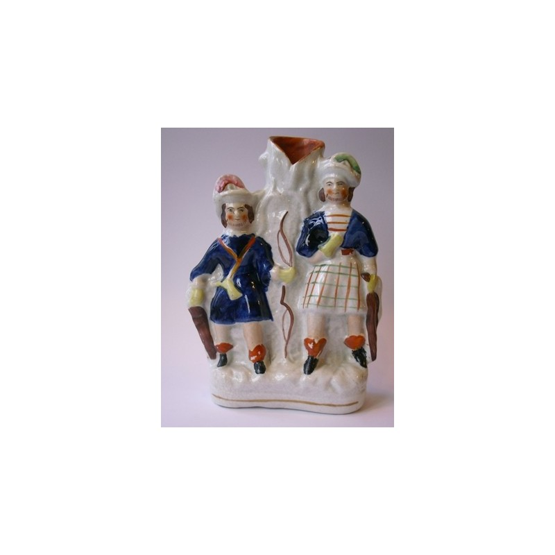 Staffordshire Pottery huntsmen
