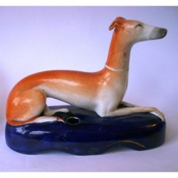 Greyhound pen holder