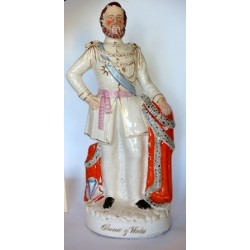 Staffordshire figure of Prince of Wales (Edward)