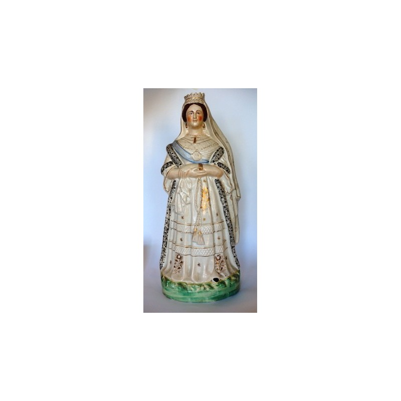 Staffordshire figure of Queen Victoria