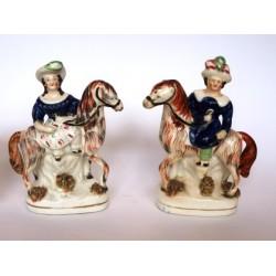 Equestrian Pair.