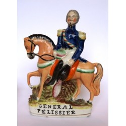 Staffordshire figure of General Pelissier