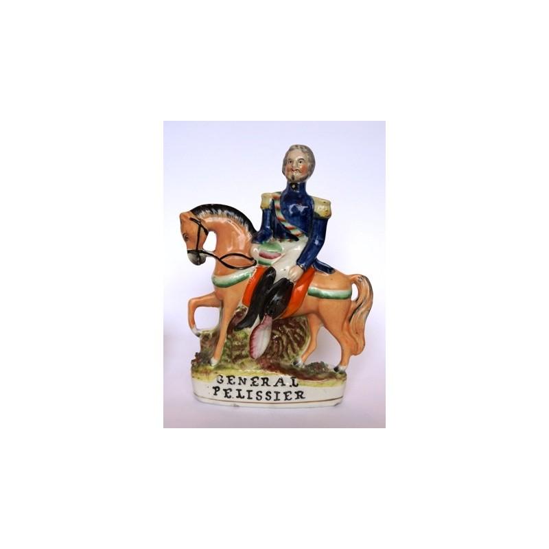 Staffordshire figure of General Pelissier