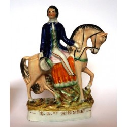 Staffordshire figure of Prince Louis of Hesse