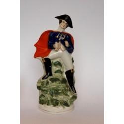 Staffordshire figure of Napoleon