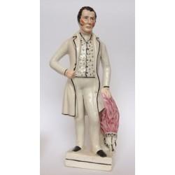 Staffordshire figure of Duke of Wellington